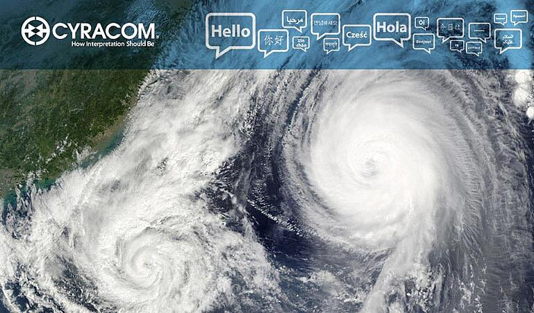 Language Services Provider Reliability Hurricane Natural Disaster